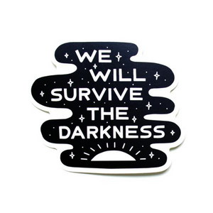 Darkness Die Cut Sticker