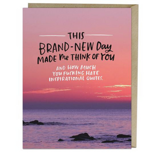 Card: Brand New Day