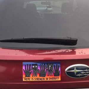 There is Strength in Diversity Bumper Sticker