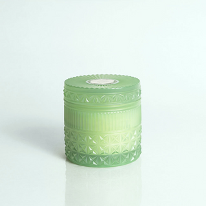 Volcano Muse Mint Faceted Jar Candle