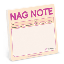 Load image into Gallery viewer, Sticky Note:Nag Note