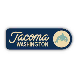 Navy Tacoma, Washington Orca Sticker