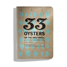 Load image into Gallery viewer, 33 Oysters Journal