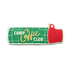 Camp Coffee Club Patch
