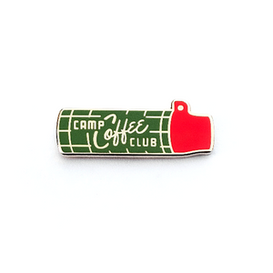 Camp Coffee Club Enamel Pin