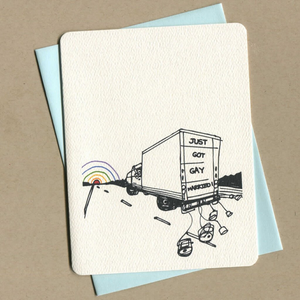 Uhaul Greeting Card