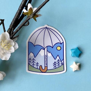 Day Umbrella Sticker