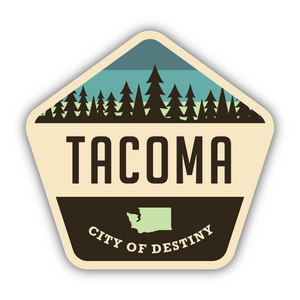Tacoma/City of Destiny Sticker