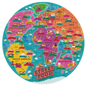 Street Food Lover's Jigsaw Puzzle 1000