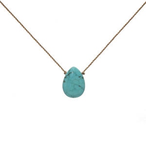 Soul Full of Light Howlite Necklace 18""
