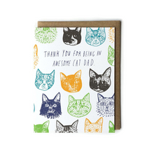 Load image into Gallery viewer, Cat Dad Father's Day Card