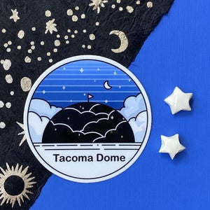Tacoma Dome Sticker