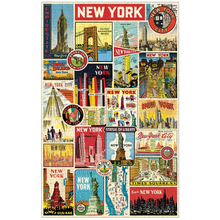 Load image into Gallery viewer, Cavallini & Co. NYC Collage 500 Piece Puzzle