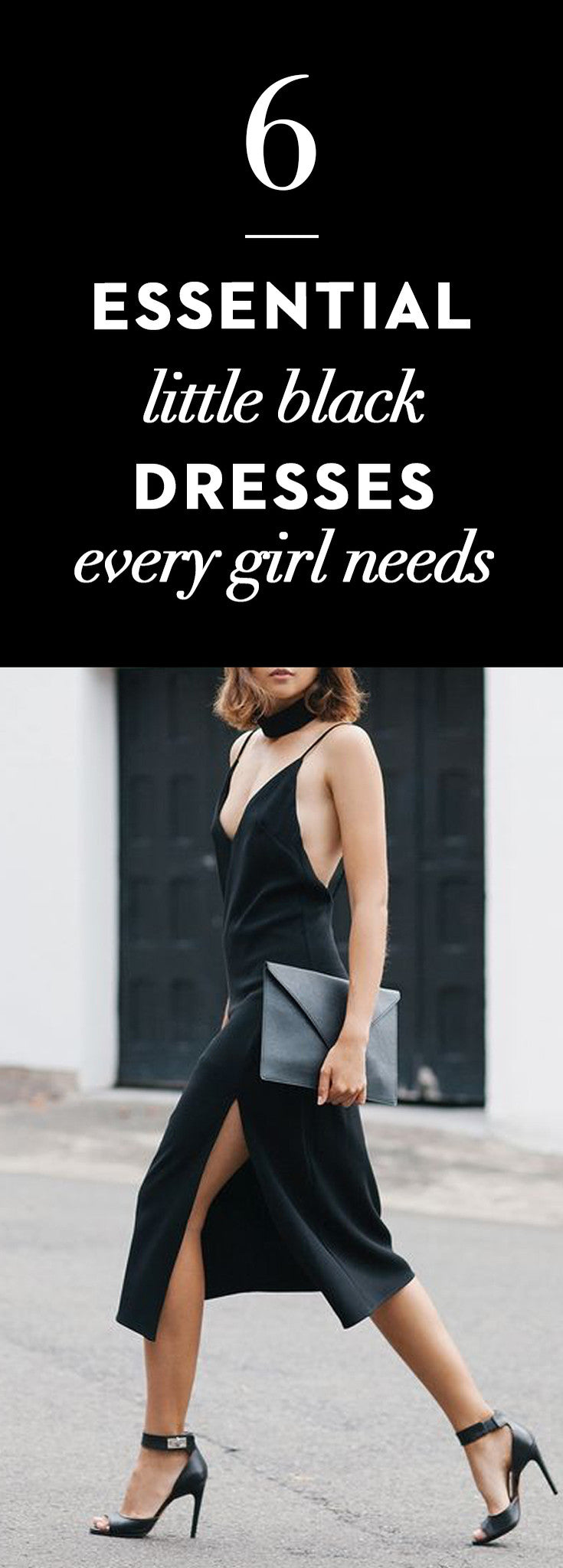 6 Essential Little Black Dresses Every Girl Needs