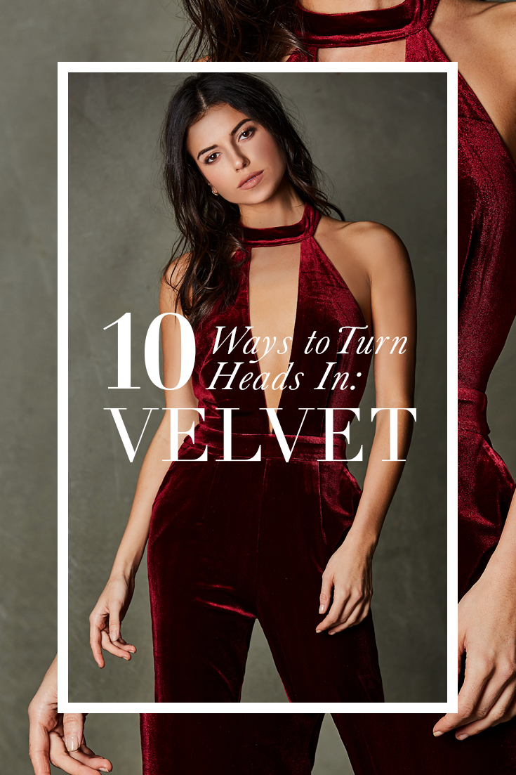 How To Turn Heads This Holiday Season: Velvet Pieces We Love