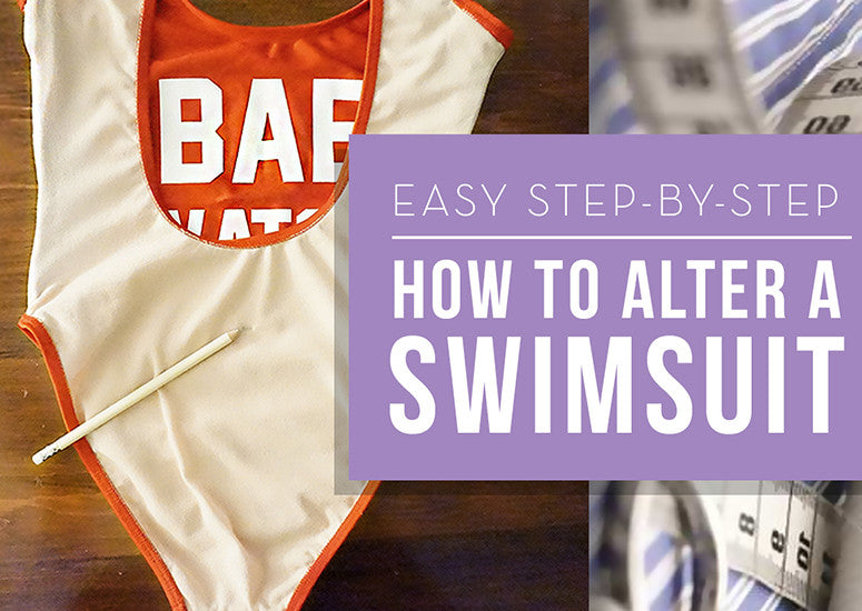 How to Alter a Swimsuit DIY: Take Your Swimwear from Blah to Ahhh