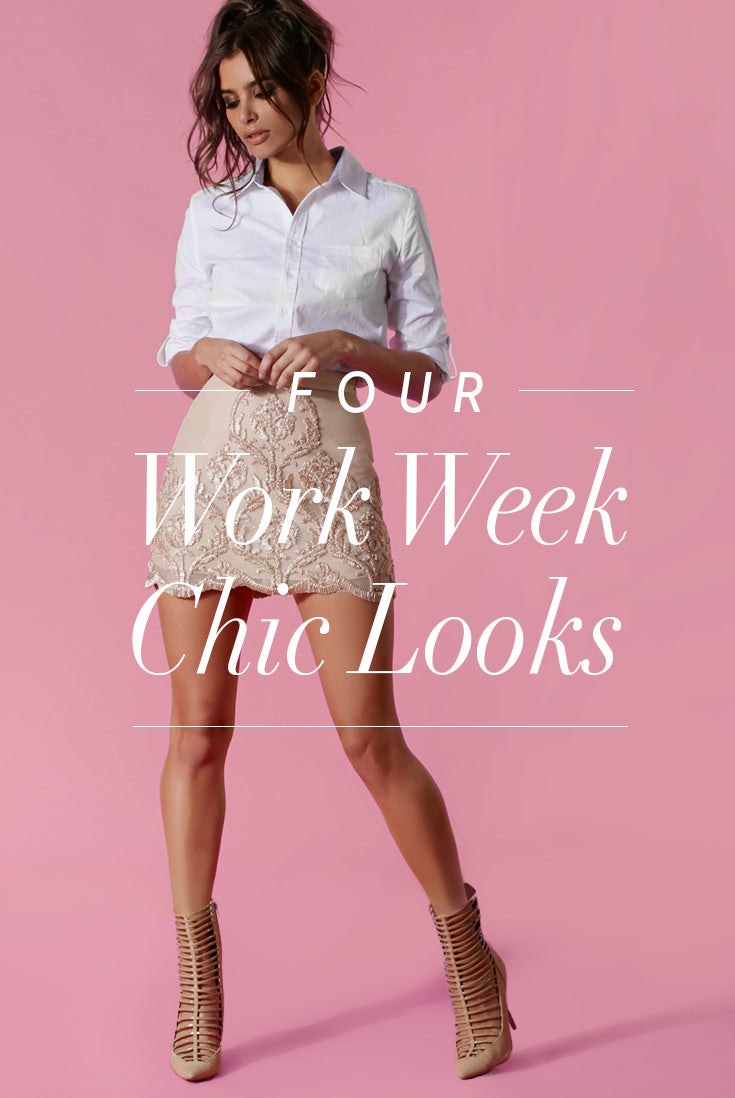 Work-week-chic! Your outfit in 4 steps