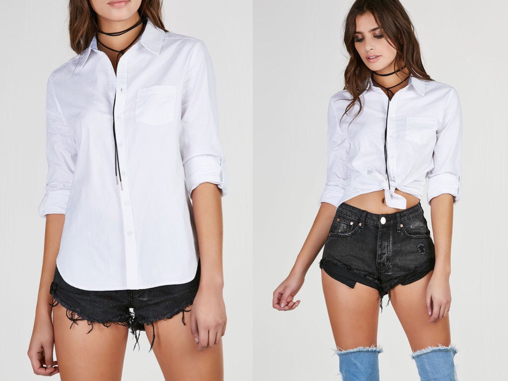 Blank Canvas Button Down