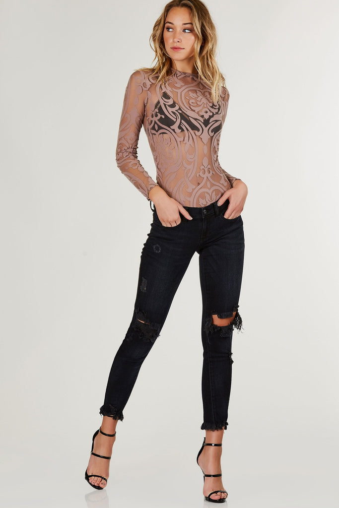 Make You Mine Mesh Bodysuit