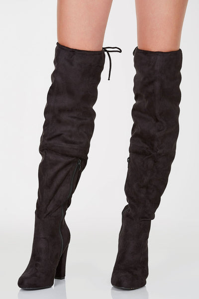 New Flame Thigh High Boots | Necessary Clothing
