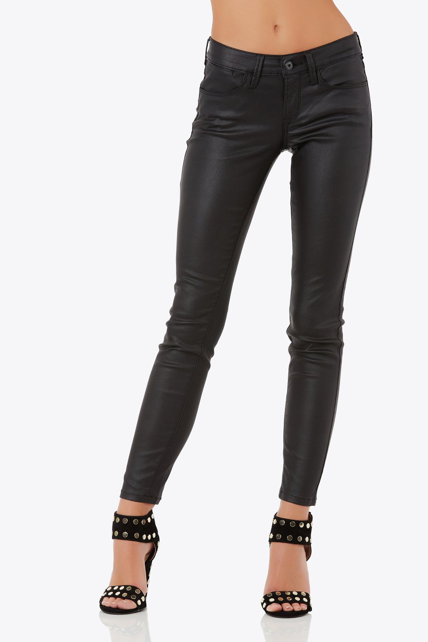Alley Cat Coated Skinnies