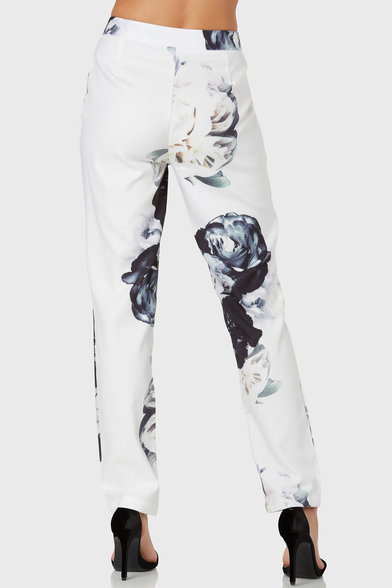 Once And Floral All Pants