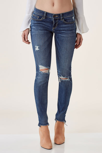 Vice Distressed Skinny Jeans