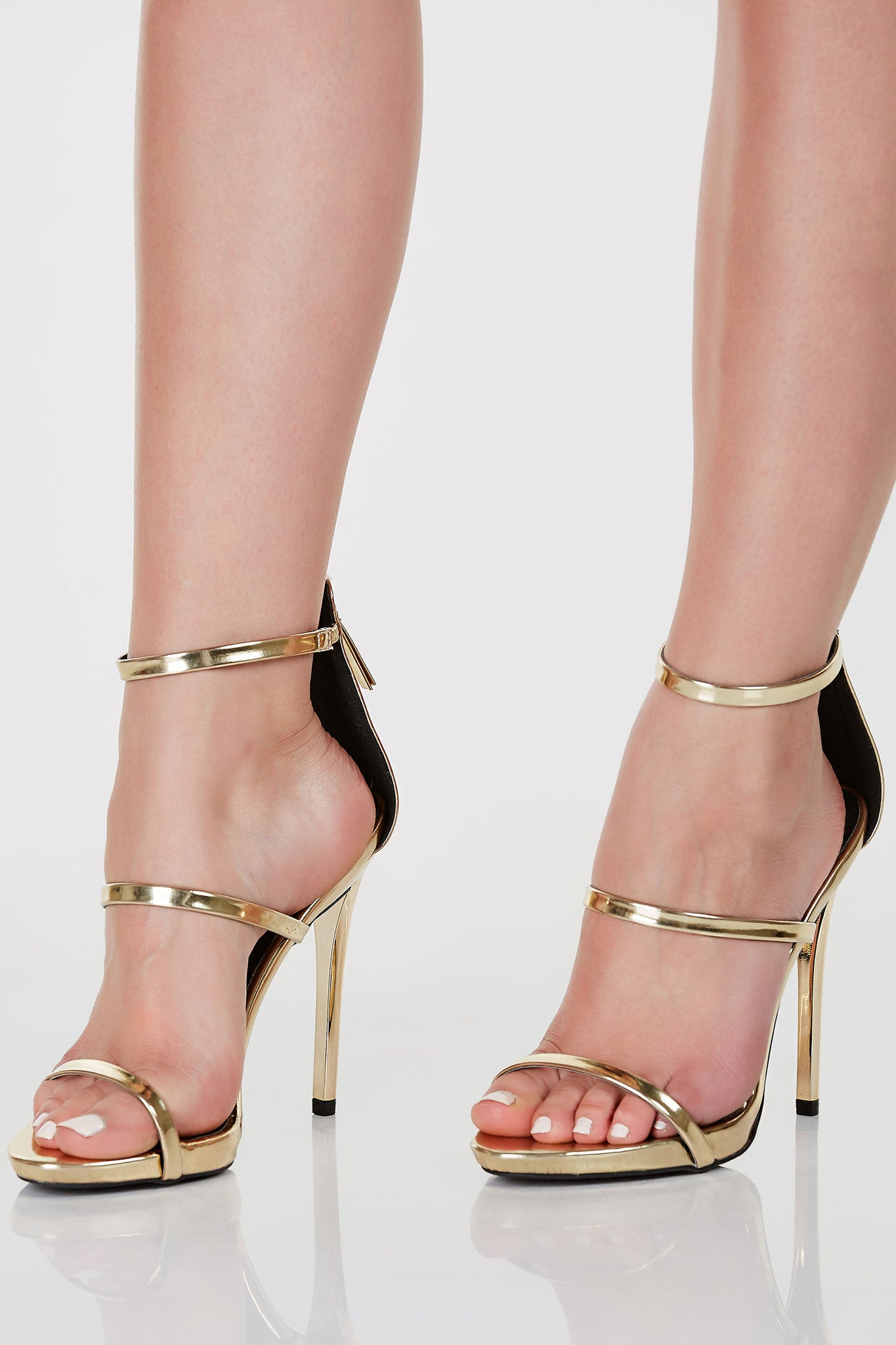Cat Walk Strap Pumps