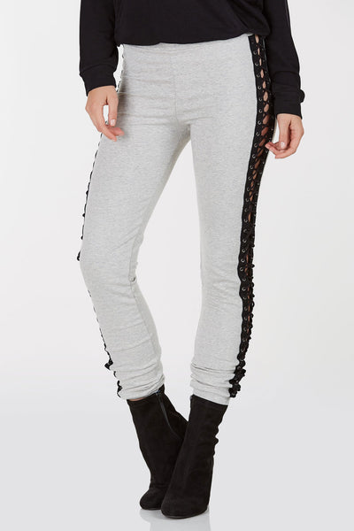 So Over It Lace Up Joggers