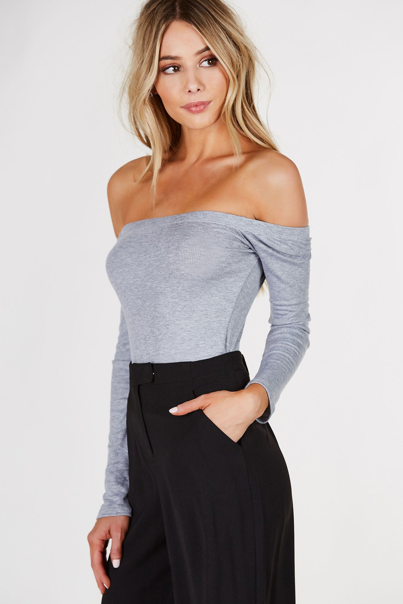 Free Zone Off Shoulder Top