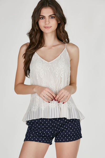 Flower Trip Lace Cami