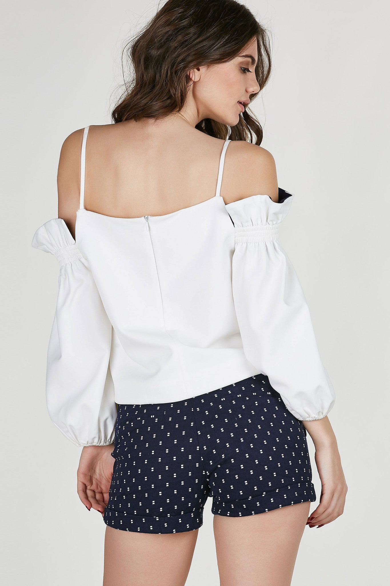 Free Your Mind Cold Shoulder Top