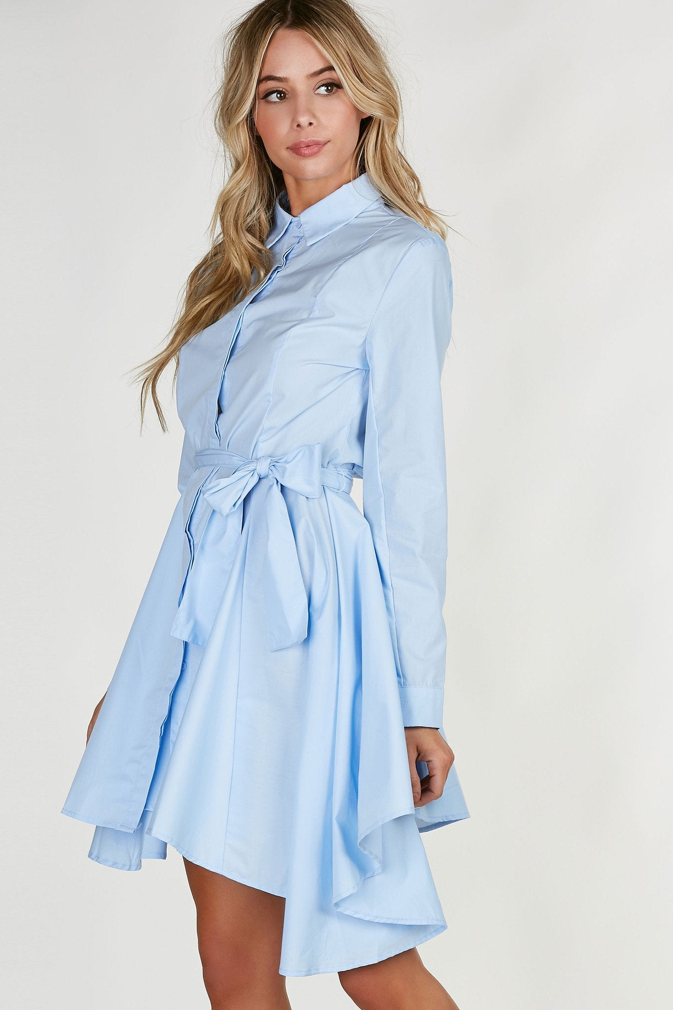 Traveler Button Down Dress