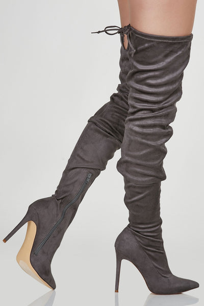 Way Up Thigh High Stilettos