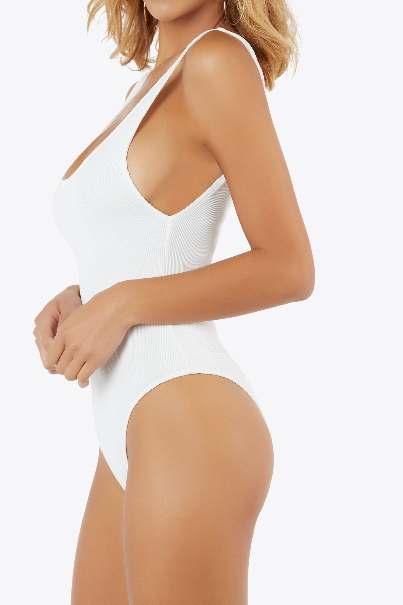 What's The Scoop Ribbed Bodysuit