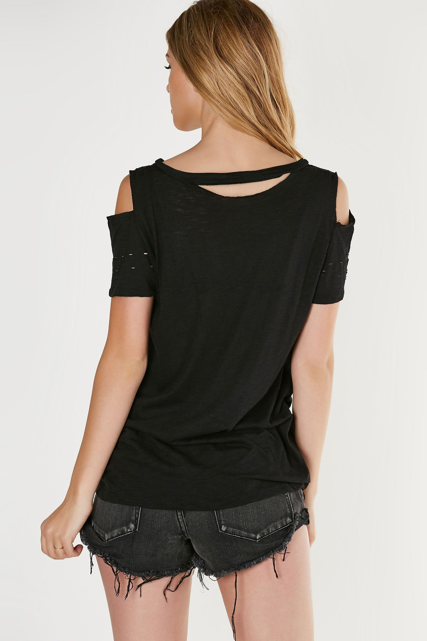 Rock Festival Cold Shoulder Tee