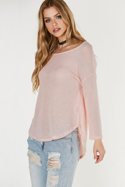 Breathe Me Oversized Top