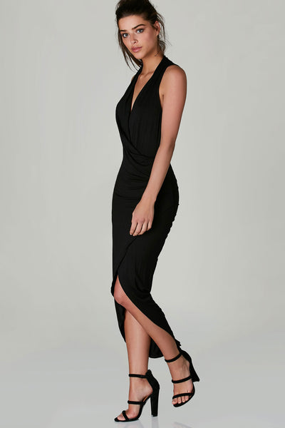 Here's The Scoop Asymmetrical Dress