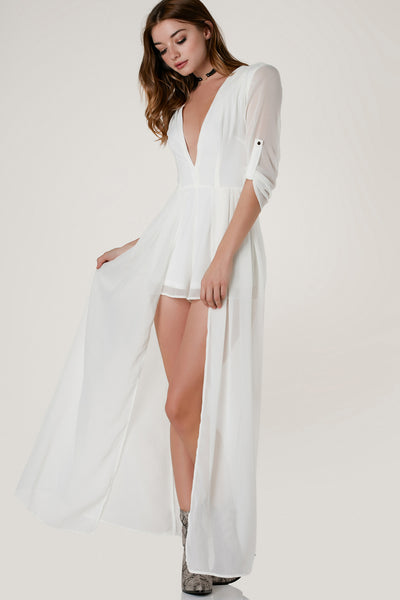 So In Love Maxi Romper