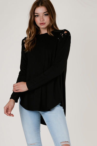 Cherish Me Cold Shoulder Top