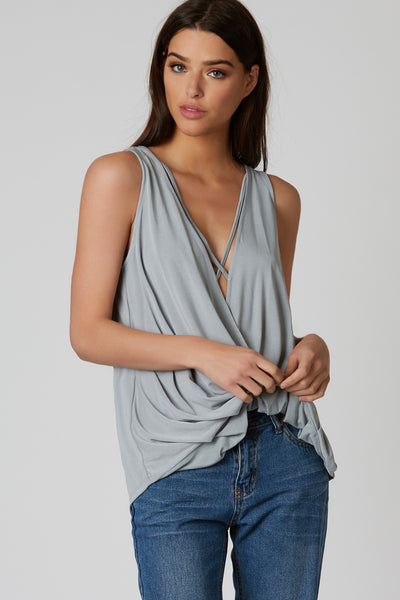 Splendid Things Draped Top