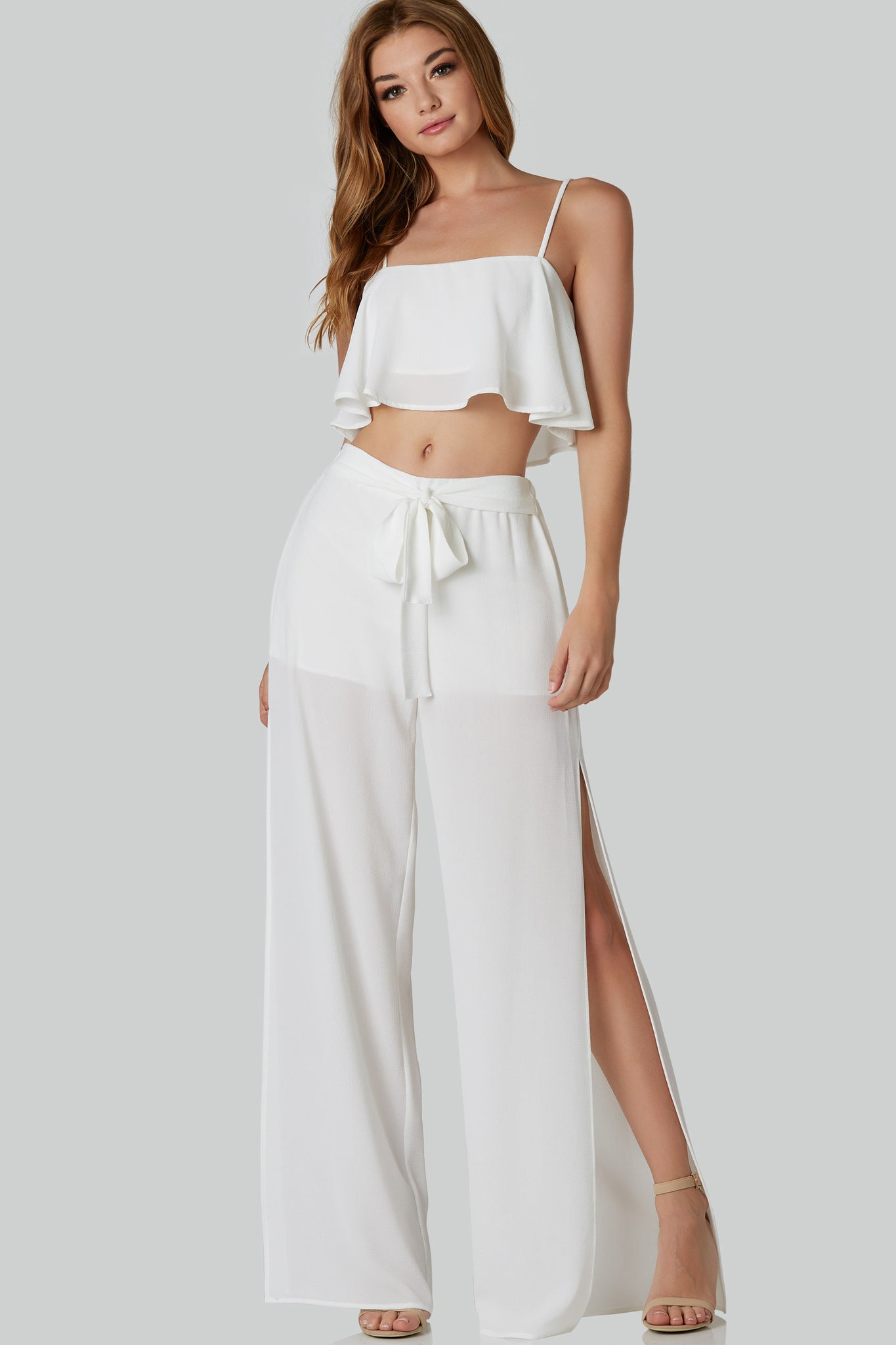 Blank Space Crop Top