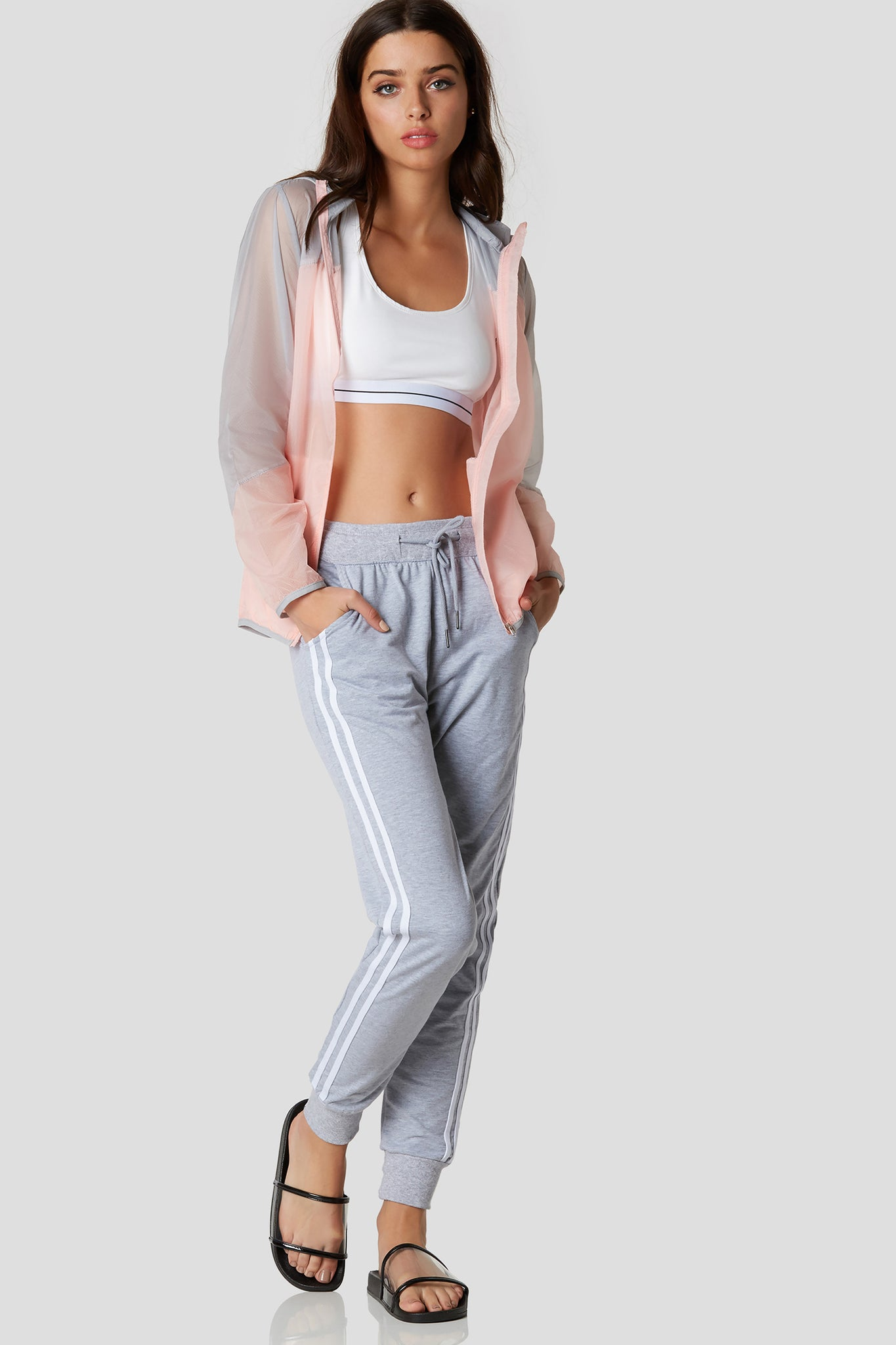 Double It Striped Joggers