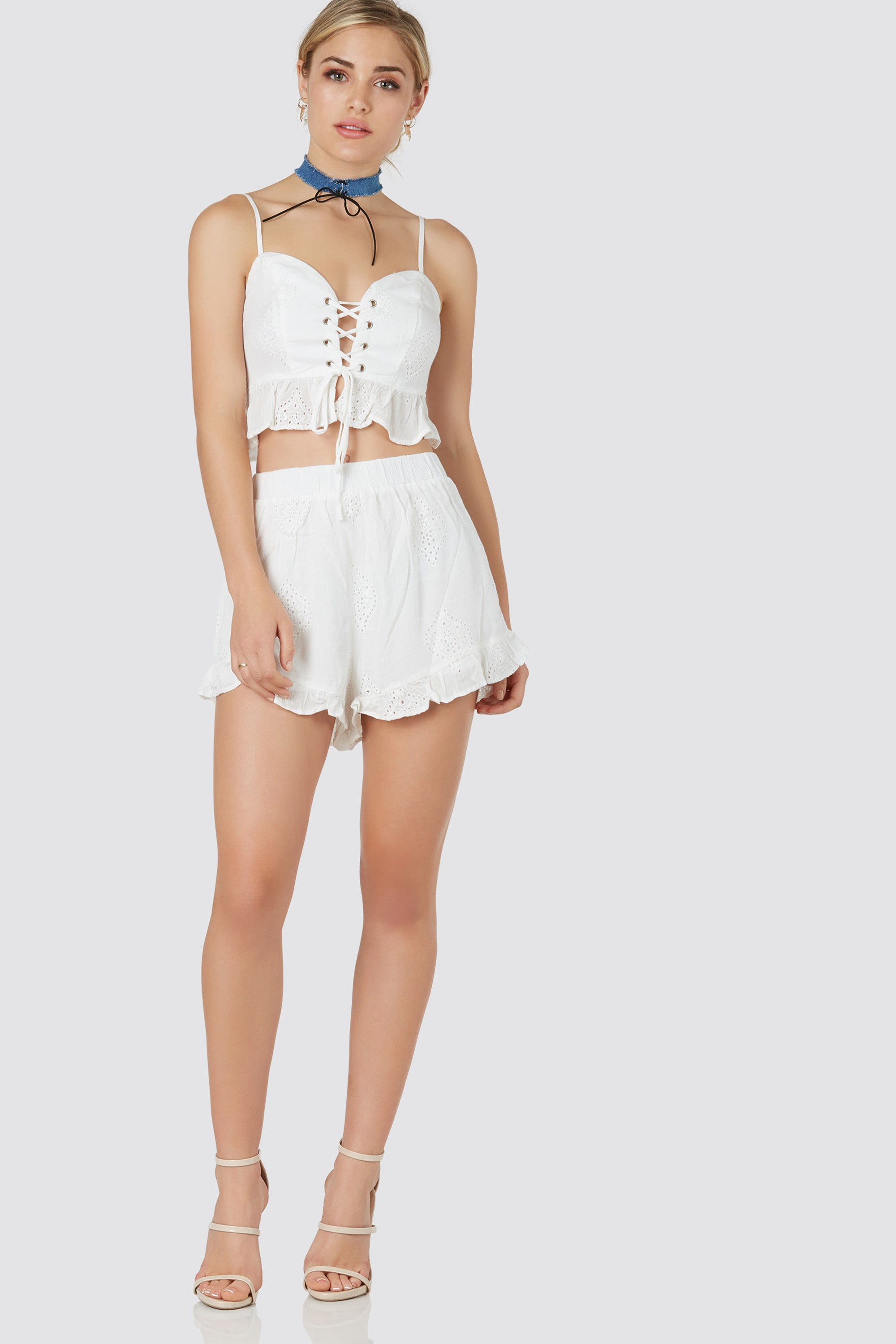 Daycation Ruffle Shorts