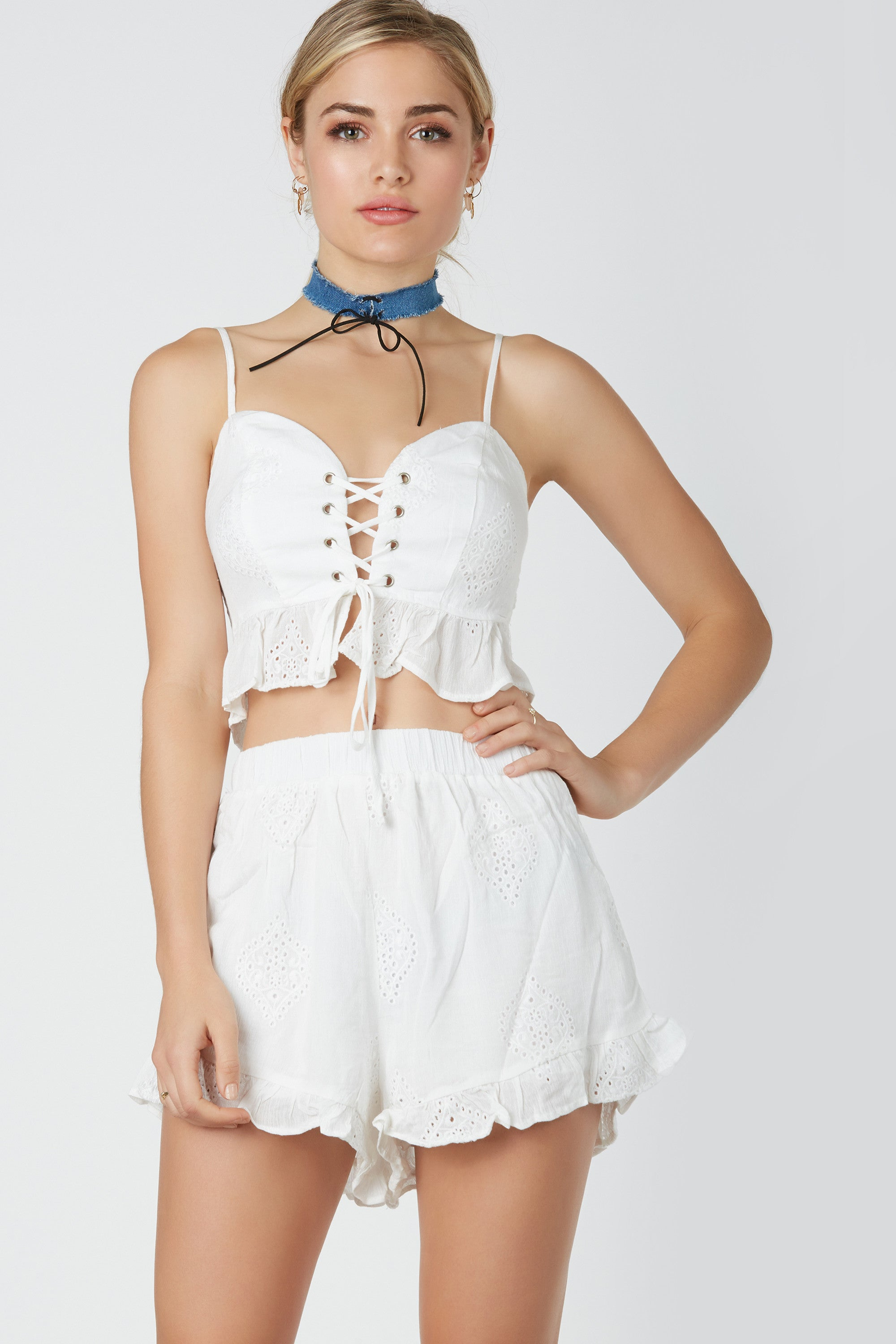 Daycation Ruffle Top