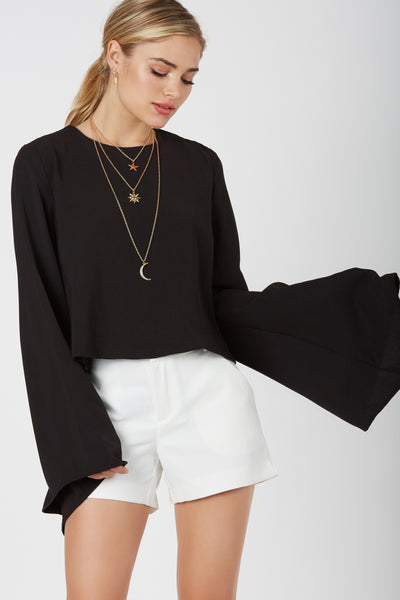Au Revoir Bell Sleeve Top