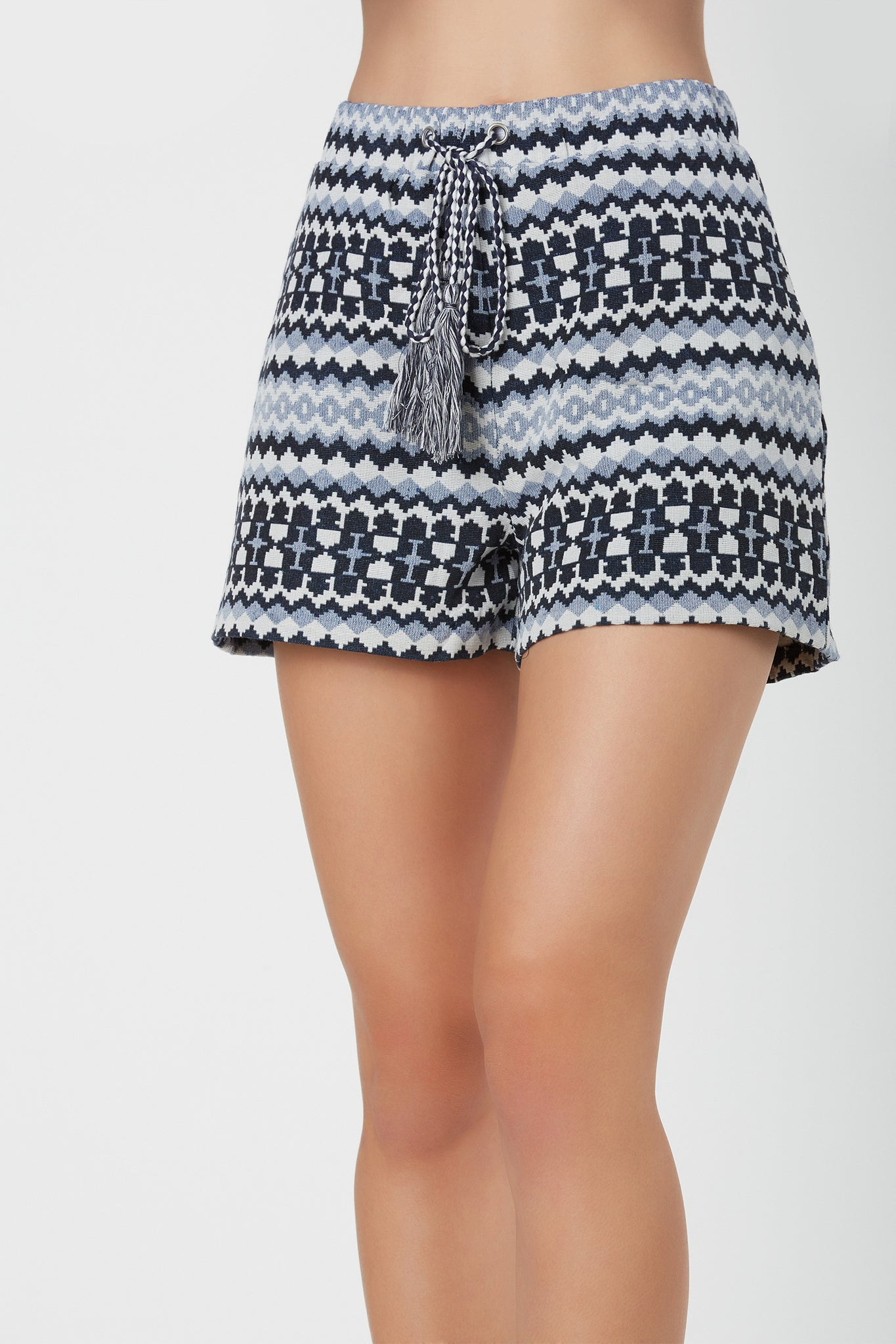 English Factory Aztec Shorts