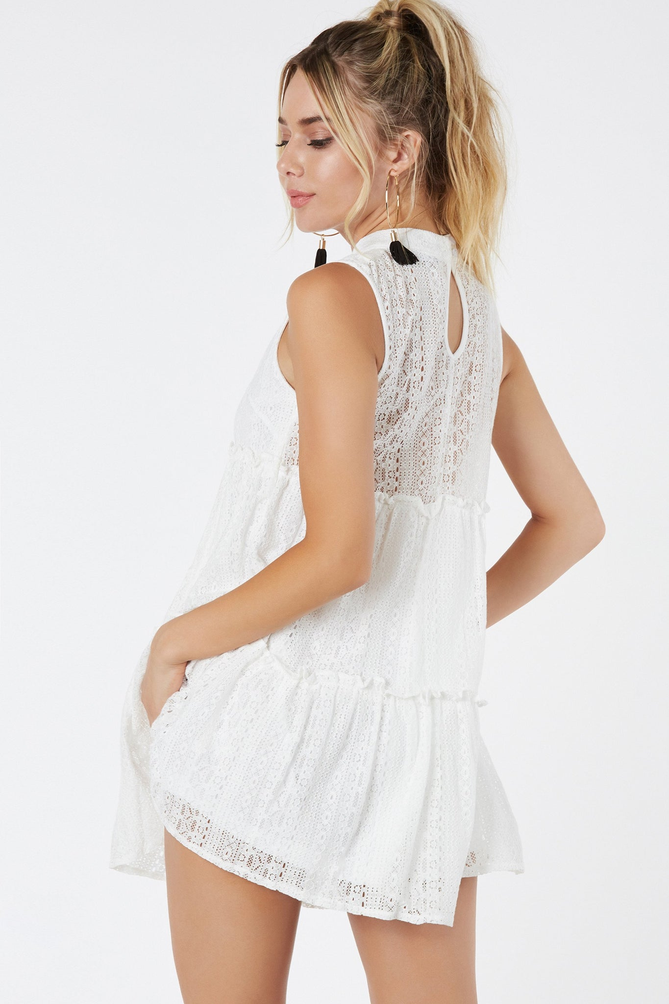 Love Lace Shift Dress