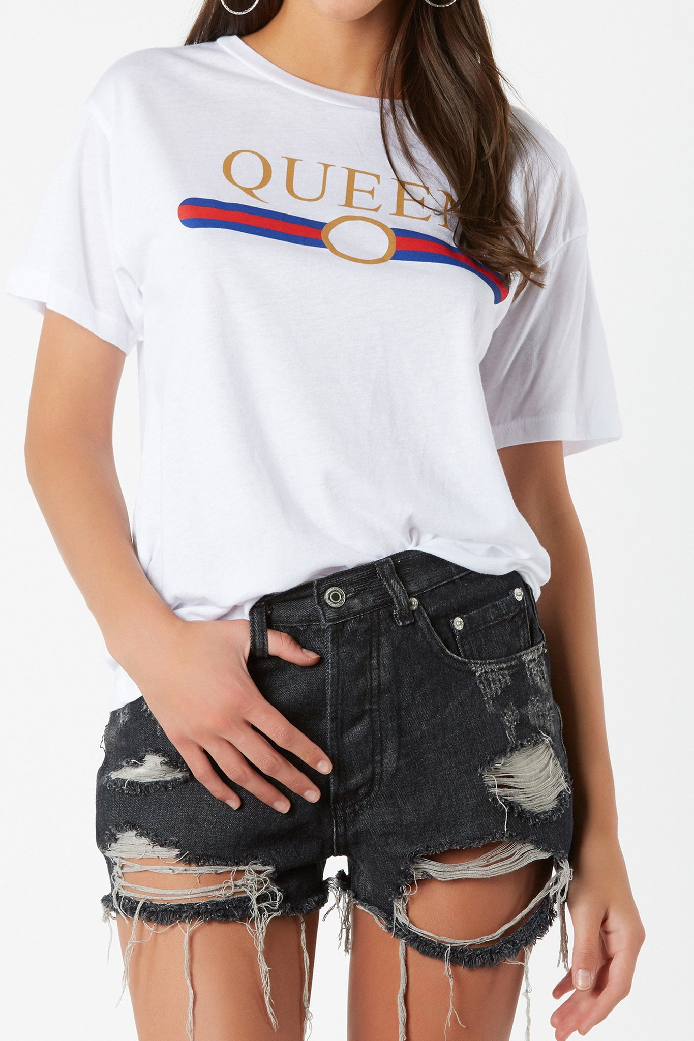 Queen Graphic BF Tee