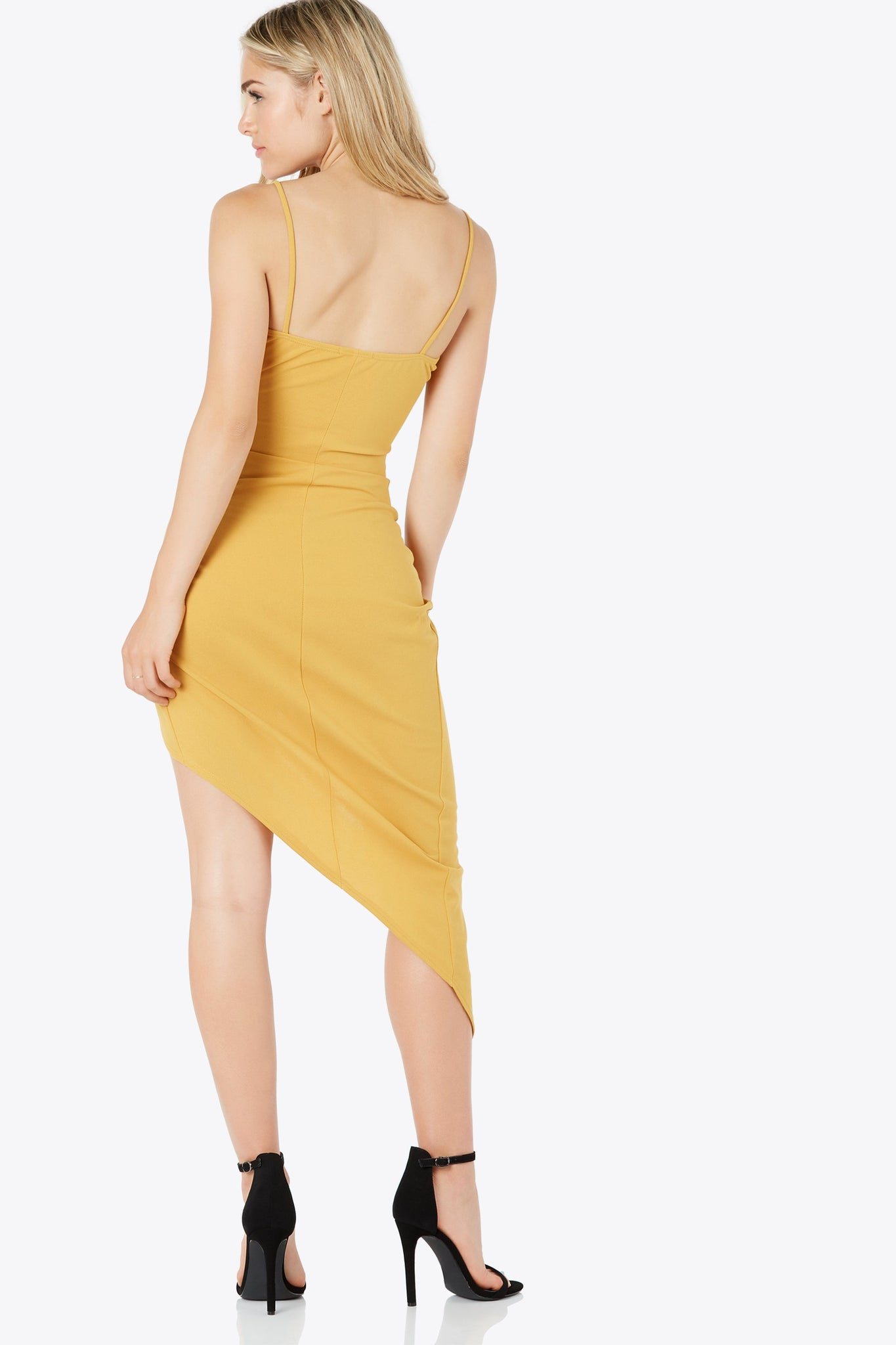 Feel This Way Asymmetrical Dress